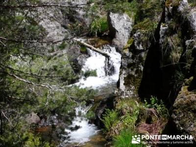Cascada del Salto de la Trucha - Arroyo de la Gargantilla; valle de la barranca; laguna de gredos